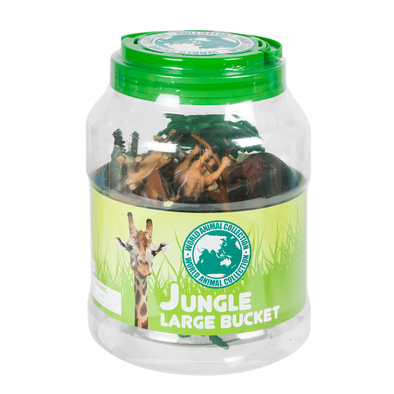 World Animal Collection Jungle Large Bucket