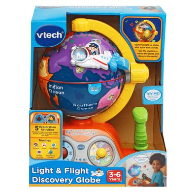 Vtech Light & Flight Discovery Globe