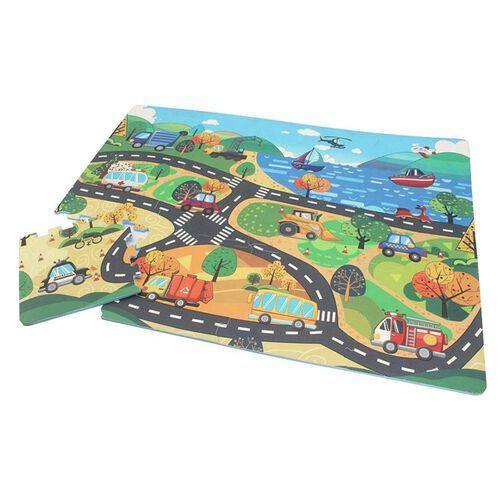 Sunta Neobear 12 Piece Ar Interactive Puzzle Popup Mat (City World)