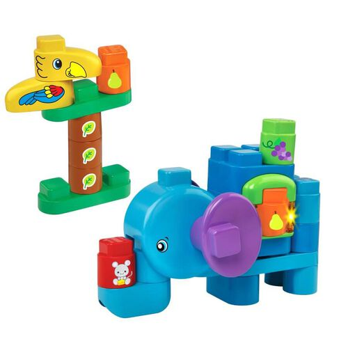 LeapFrog LeapBuilder Block Play Elephant Adventures