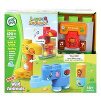 LeapFrog LeapBuilder Block Play - Wild Animals