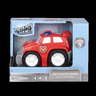 Speed City Junior Tap N Go City Racer Red