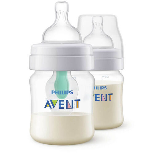 Philips Avent PP Bottles With Airfree Vent 125ml 2 Pack