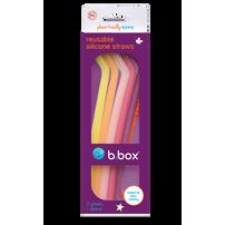 B.Box Silicone Straw Very Berry