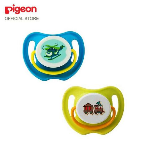 Pigeon Calming Soother Boy 2 Pieces Size L