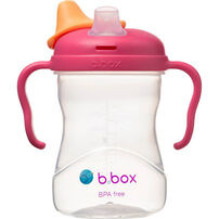 B.Box Spout Cup 8oz Raspberry