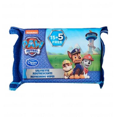 Paw Patrol Wet Wipes 20 Sheets