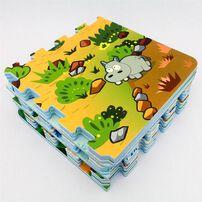 Sunta Neobear 12 Piece Ar Interactive Puzzle Popup Mat (Animal Land)