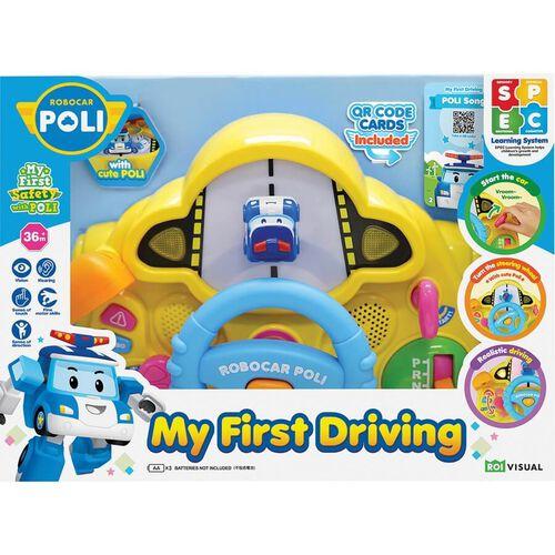 Robocar Poli My First Driving