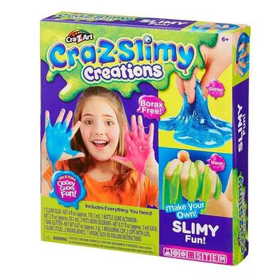 Cra-Z-Art Cra-Z-Slimy Creations Making Kit